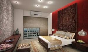 Bedroom at Jetwing Jaffna