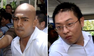 Andrew Chan (R) and Myuran Sukumaran were executed because the AFP betrayed its obligation not to expose Australians to the death penalty, said Myers.