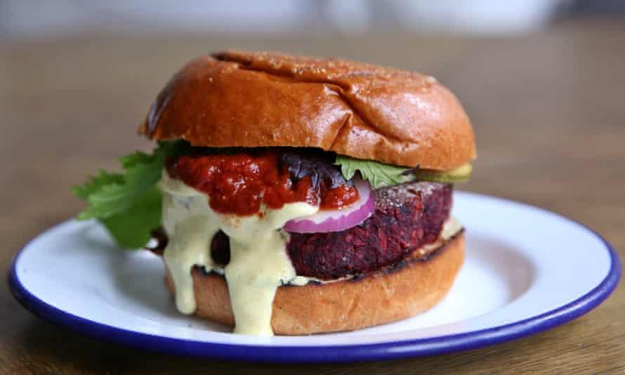 Tom Hunt's pulp fiction burger.