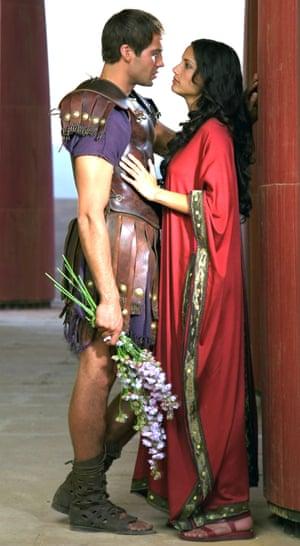 Billy Zane and Leonor Varela star in the 1999 mini-series Cleopatra.