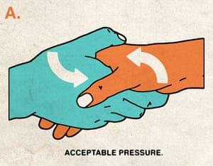 Illustration of handshake