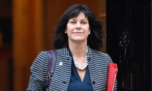 Energy minister Claire Perry.