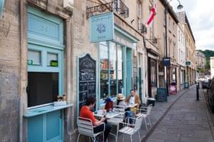 The Fine Cheese Company in Walcot Street, Bath.