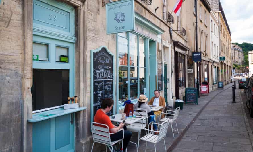 Walcot Street in Bath in 2019.