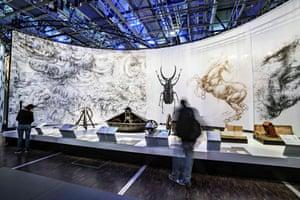 Leonardo da Vinci: The Mechanics of Genius at the Science Museum.