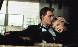 Johnny Depp and Charlize Theron in The Astronaut's Wife.