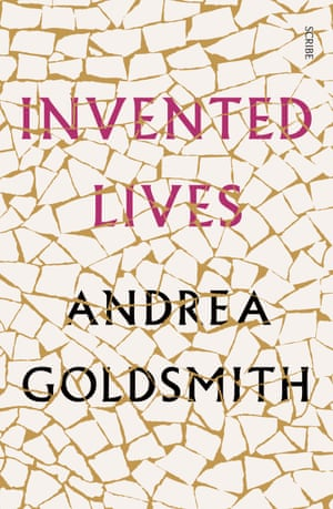 Book cover of Invented Lives by Andrea Goldsmith