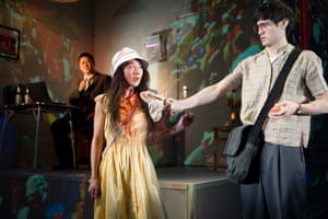 Benedict Wong, Elizabeth Chan and Andrew Leung in the award-winning Chimerica at the Almeida theatre in 2013.