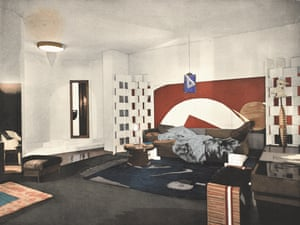 Boudoir de Monte Carlo shown at the Salon de la Société des Artistes Décorateurs in 1923.