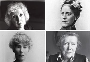 Martha Gellhorn, Mary Kingsley, Sybille Bedford and Gertrude Bell.