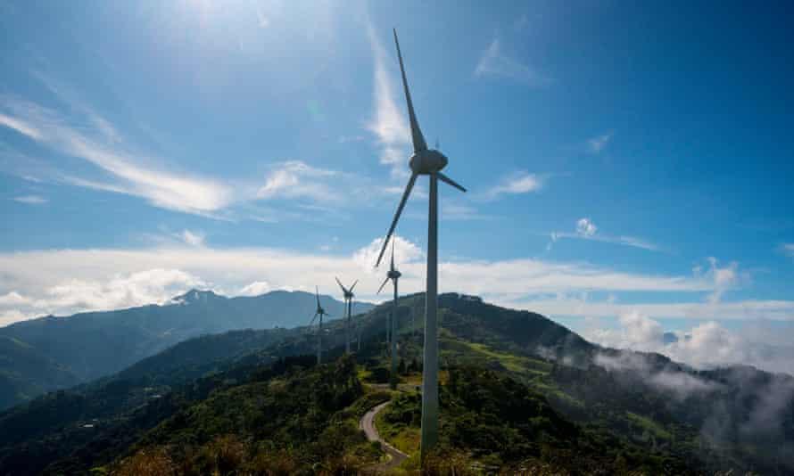 costa rica wind energy