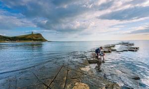 Kimmeridge Bay, Dorset.