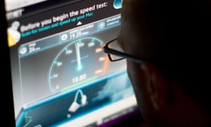Put to the test: BT's broadband speeds came nowhere near its promises.