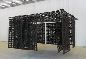 Cristina Iglesias's Pavilion Suspended in a Room