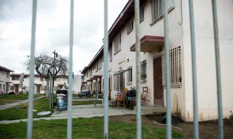 Jordan Downs, one of the oldest housing projects in LA, was built as a temporary shelter for factory workers during the second world war and became public housing for the poor in the 1950s.