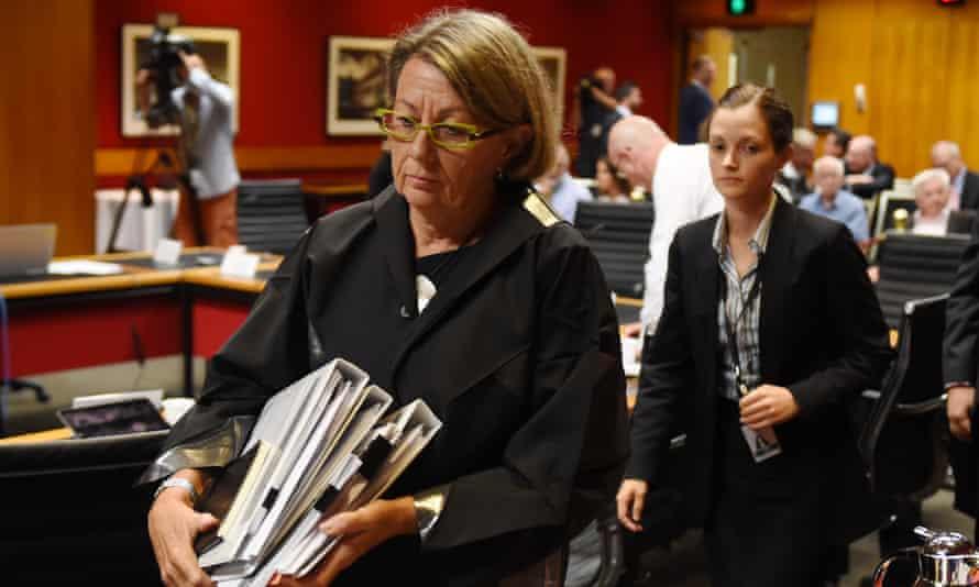 Independent Commission Against Corruption commissioner Megan Latham
