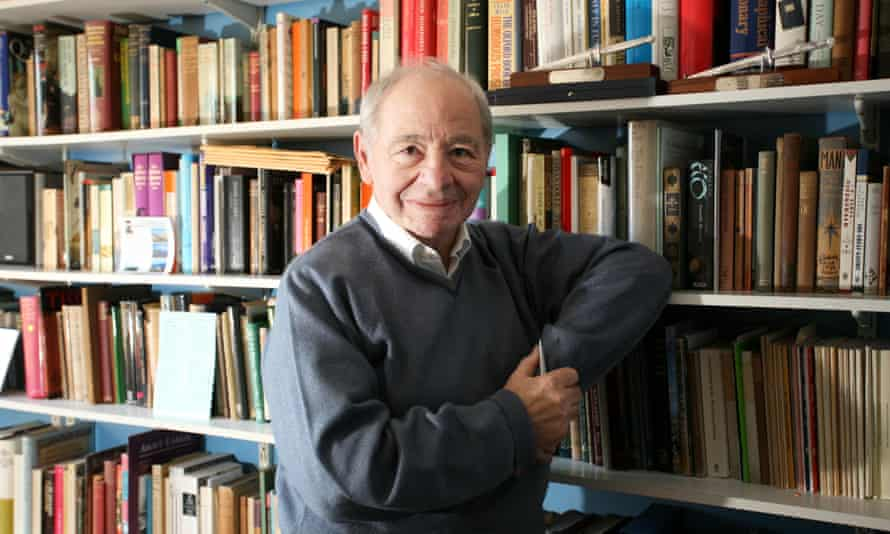 'He never had a literary agent because he remained convinced of the decency of people' … Colin Dexter at his home in 2007.
