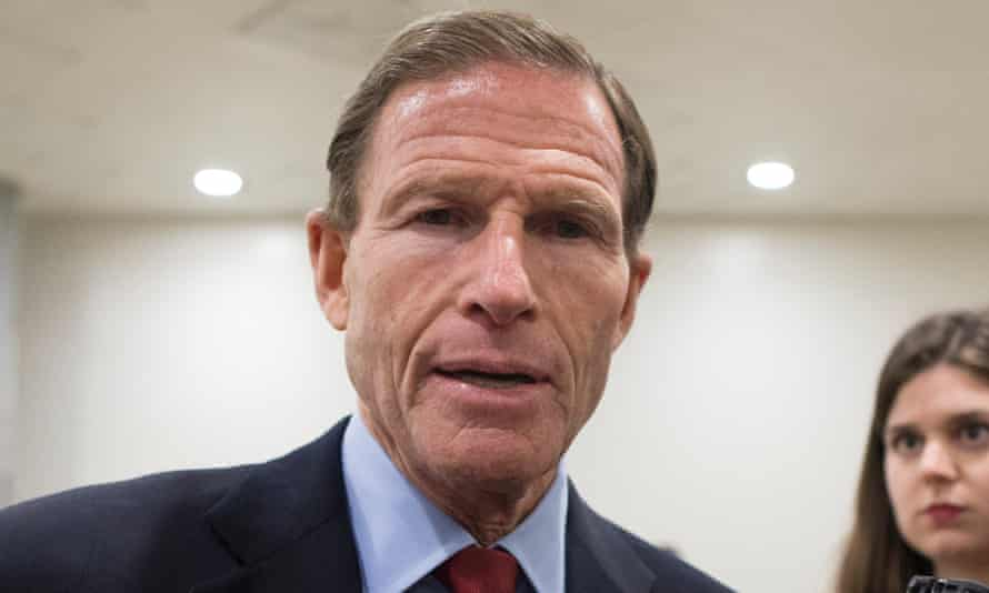 Senator Richard Blumenthal, one of the Democrats behind the lawsuit.