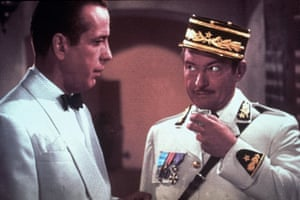 Image result for bogart and rains in casablanca