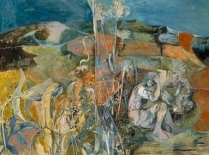 Summer Landscape, 1943 by John Minton.