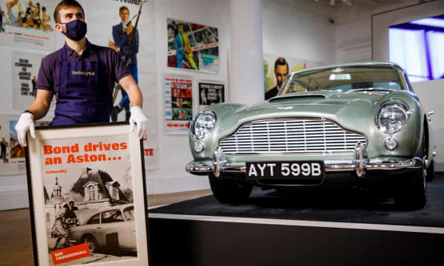 A quintessential Bond car auctioned at Sotheby's