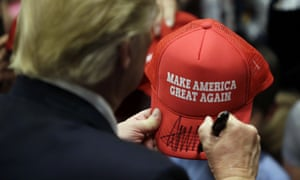 Trump's signature campaign sales pitch.