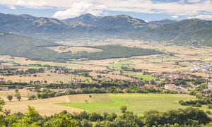 The Valnerina near to Norcia, Umbria, Italy, Europe