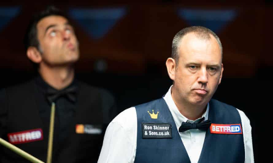 Mark Williams – champion at the Crucible in 2000, 2003 and 2018 – compiled a 130 break on his way to a 6-2 lead against Ronnie O'Sullivan.