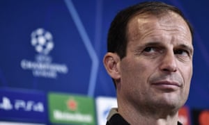 Massimiliano Allegri's hopes his side can make it to the Champions League semi-finals.