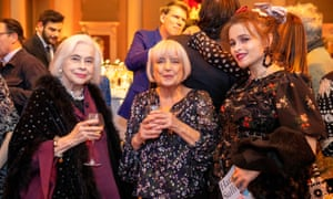 Wilmers with Helena Bonham-Carter and her mother Elena Propper de Callejón at the LRB's 40th birthday party last year.