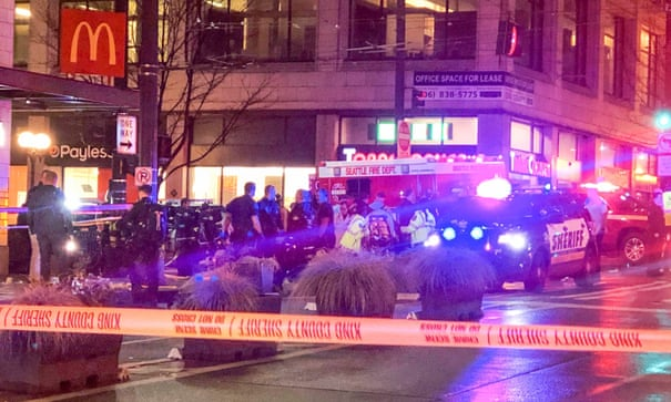 Mass shooting in Seattle leaves one dead and seven injured