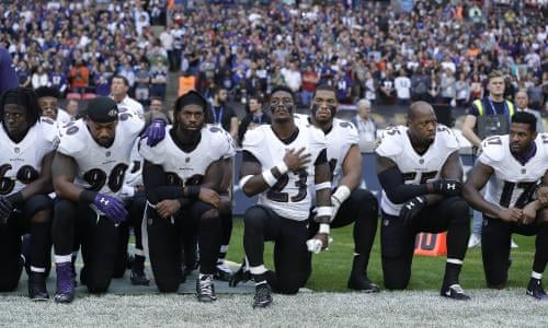 c71f7130f Taking the knee  how NFL players protested during national anthem in every  game – in pictures
