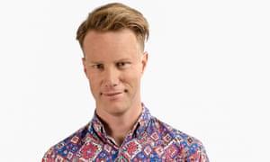 Triple J Hack presenter Tom Tilley