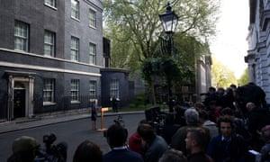 Theresa May calls a snap election.