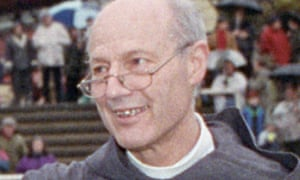 The former bishop Peter Ball, who was jailed for sexual abuse in 2015.