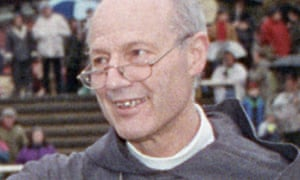 The former bishop of Lewes Peter Ball, pictured in 1992, was jailed for 32 months last October.