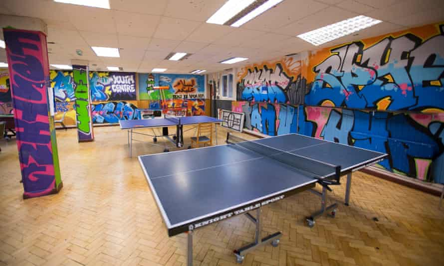 A youth club in London