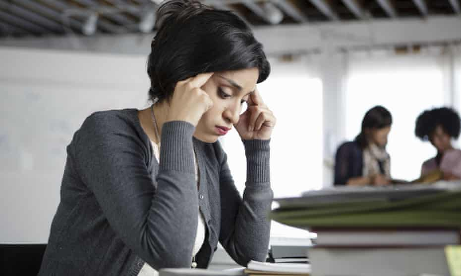 An estimated 10m working days were lost in Britain last year due to work-related stress.