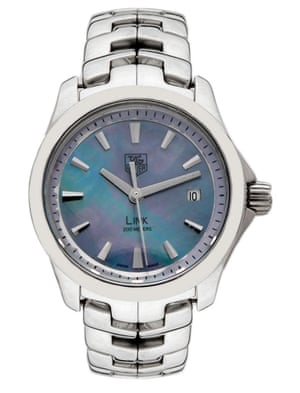 Tag Heuer Link stainless steel man's watch.