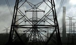 Liddell power lines