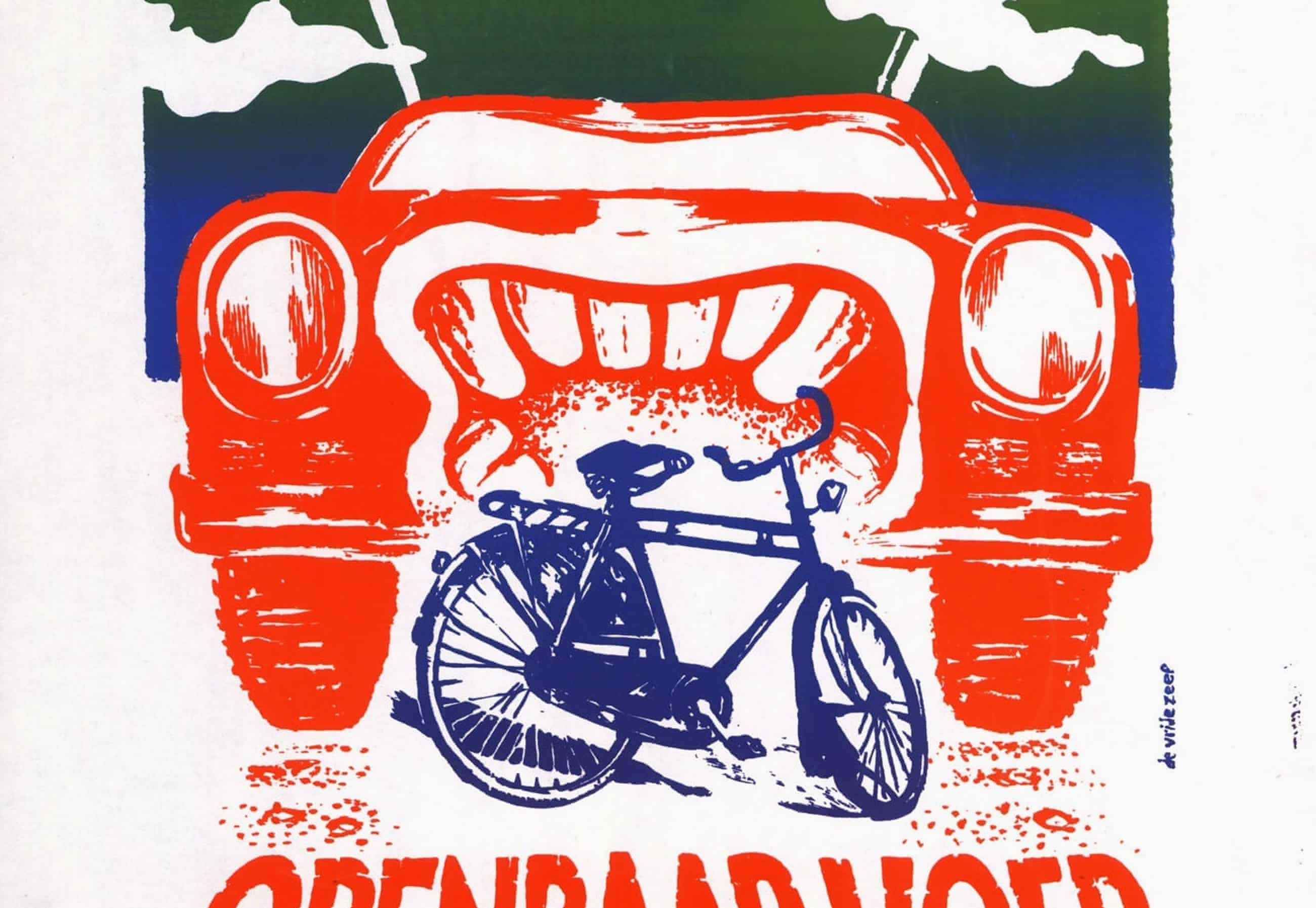 'I think therefore I cycle': 50 years of Dutch anti-car posters – in pictures