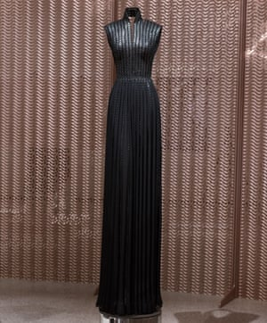 One of the 60 gowns on display at the Design Museum exhibition.