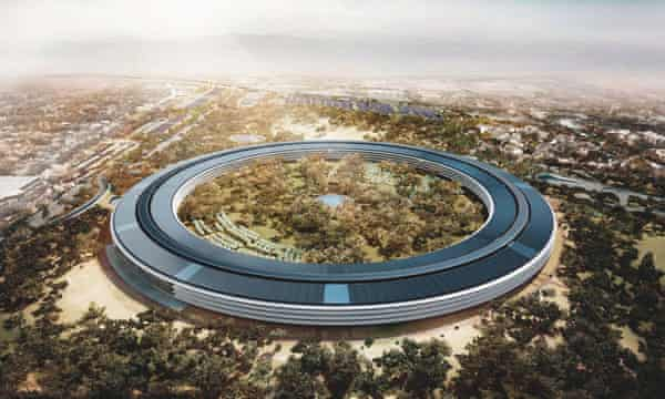 Apple is building a new headquarters in Cupertino that some have called the Death Star.
