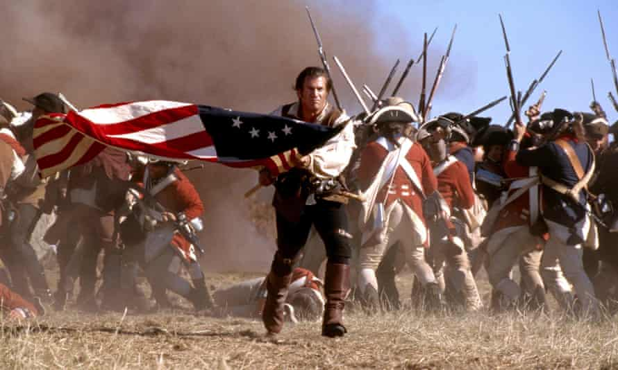 Mel Gibson in The Patriot film from 2000.