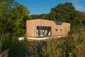 The Chichester prototype floating home designed by Baca Architects