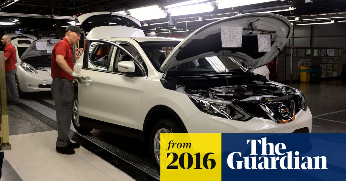 Nissan to make new car models in UK as economy defies Brexit fears