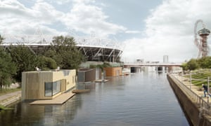 Buoyant Starts by Floating Homes with Baca Architects