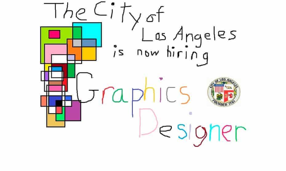 The LA job advert