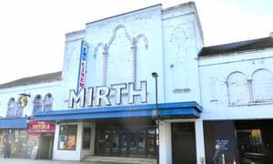 The former EMD Cinema (previously Granada Cinema) in Walthamstow.
