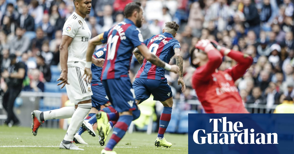 c625ab60d Real Madrid rocked again as Levante leave Lopetegui on the brink ...